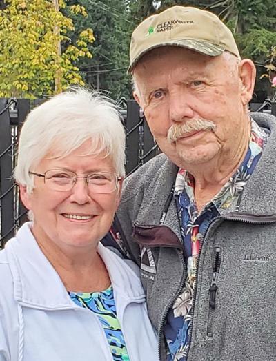 """Karen and Elvin """"Bud"""" Bright anniversary"""