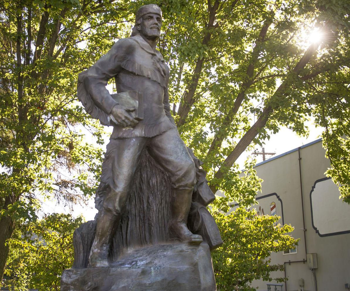Marcus Whitman Statue