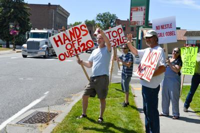 Demonstration in Waitsburg