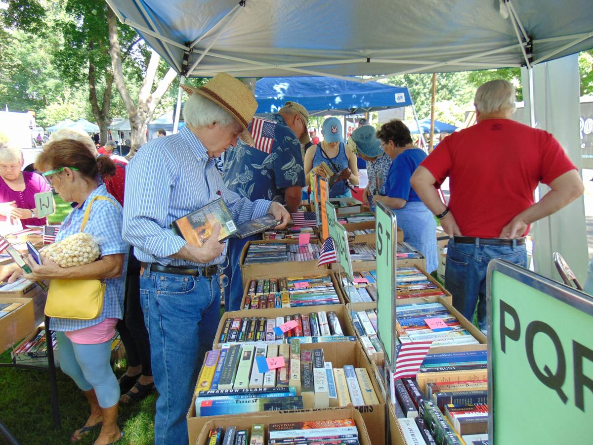 AAUW book sale July 4