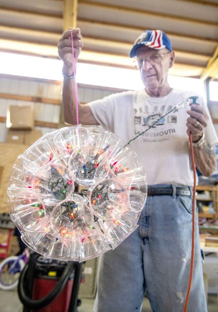 Retirement? Couple's positive pursuits include oil painting, wood, PVC crafts