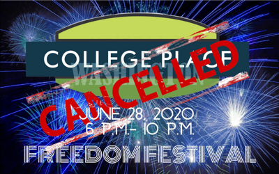 College Place Freedom Festival was canceled