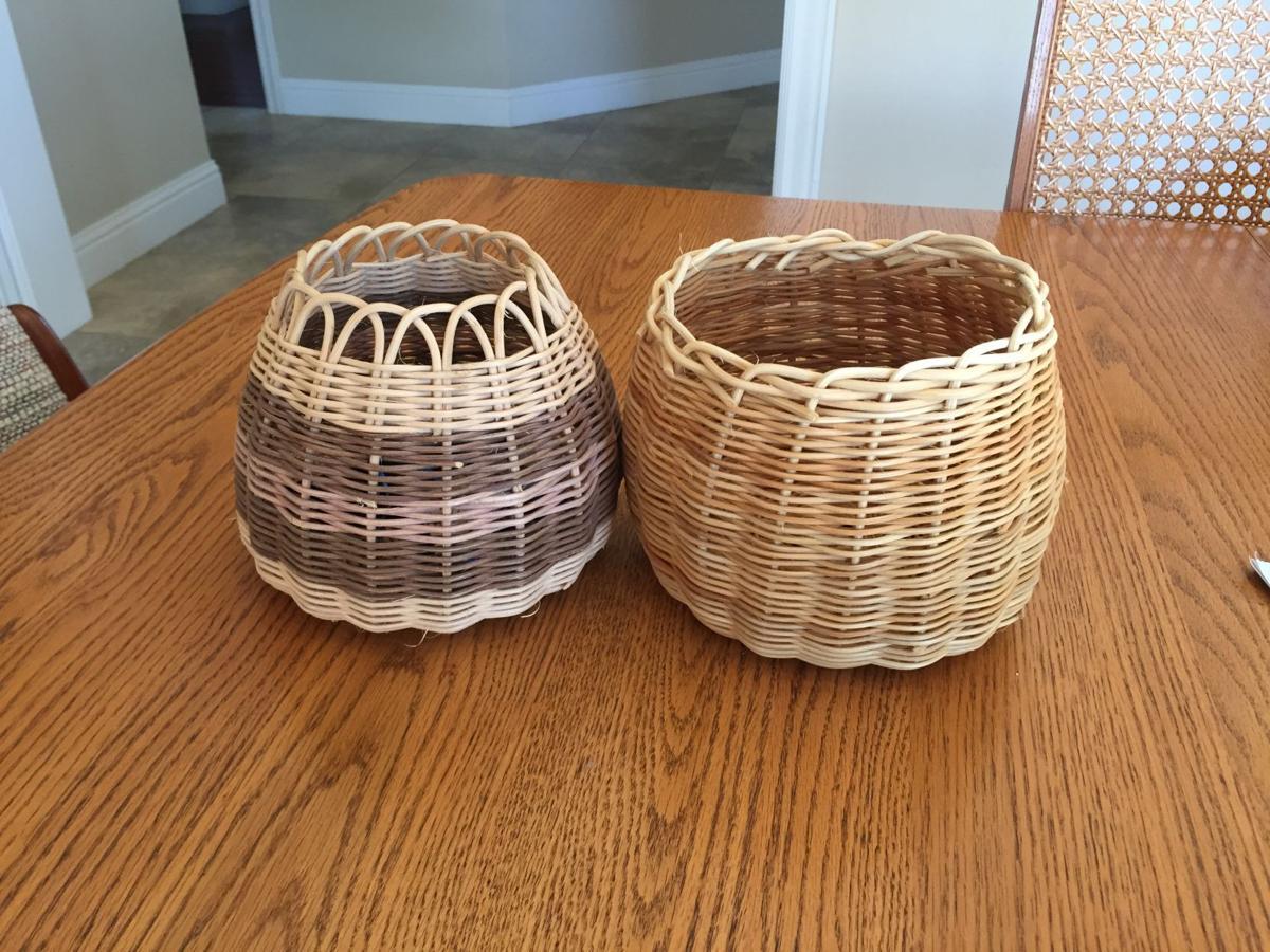 Round Reed Basket