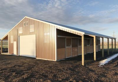 New ag and animal barn for the Athena-Weston School District