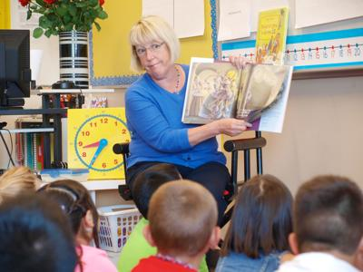 Story time with Sen. Patty Murray
