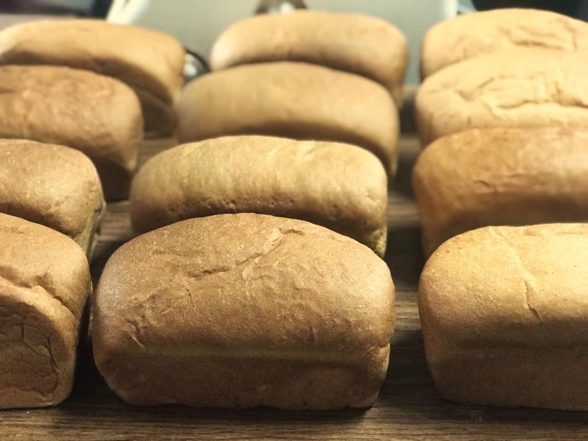 Bread cools