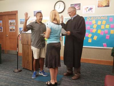 Jose Garcia sworn in