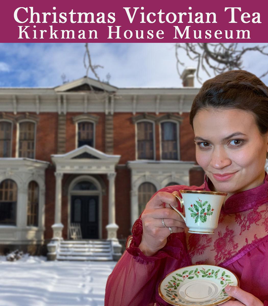 Fancy Tea at the Kirkman House