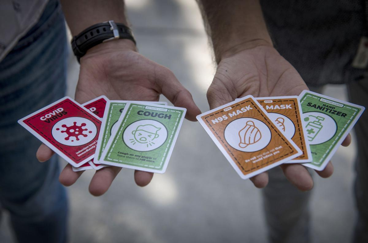 Covid Survivor cards
