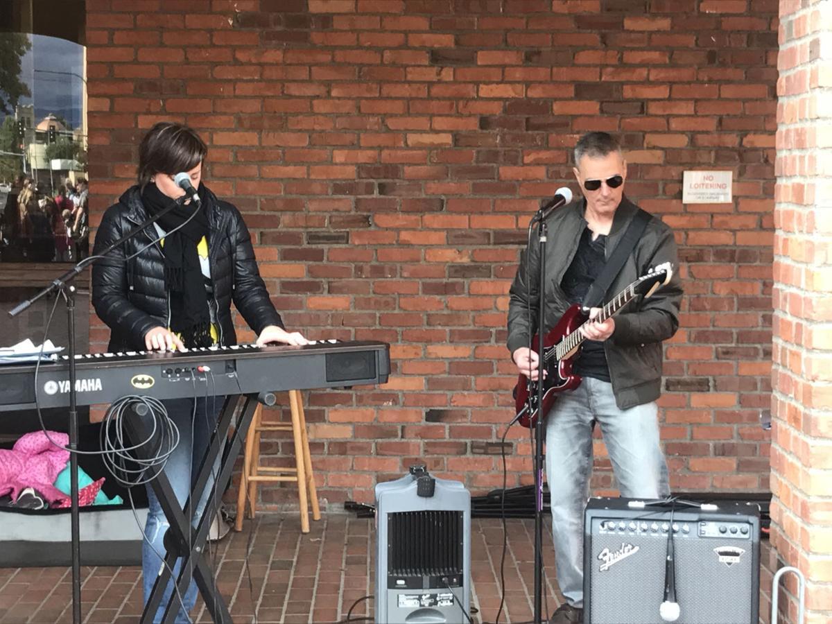 """Local artists perform """"Batman"""""""