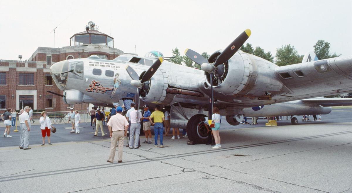 B-17 Sentimental Journey in Louisville