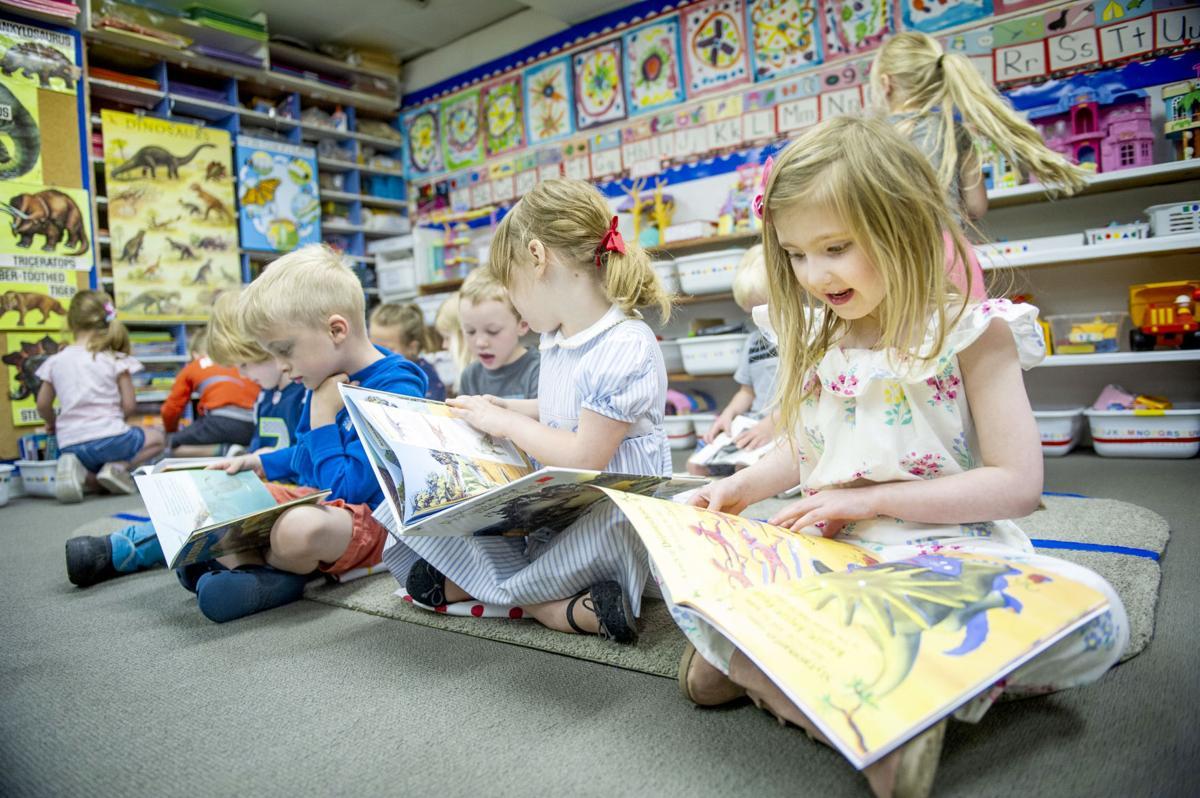 Betty's Preschool students