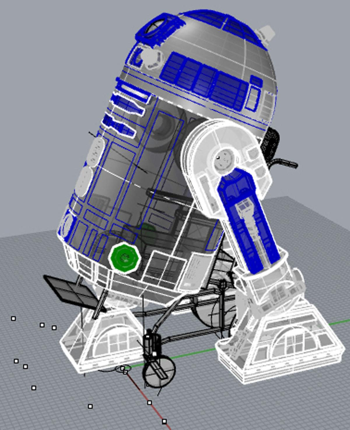 Local artist makes R2-D2 a reality for young boy | Etcetera ... on