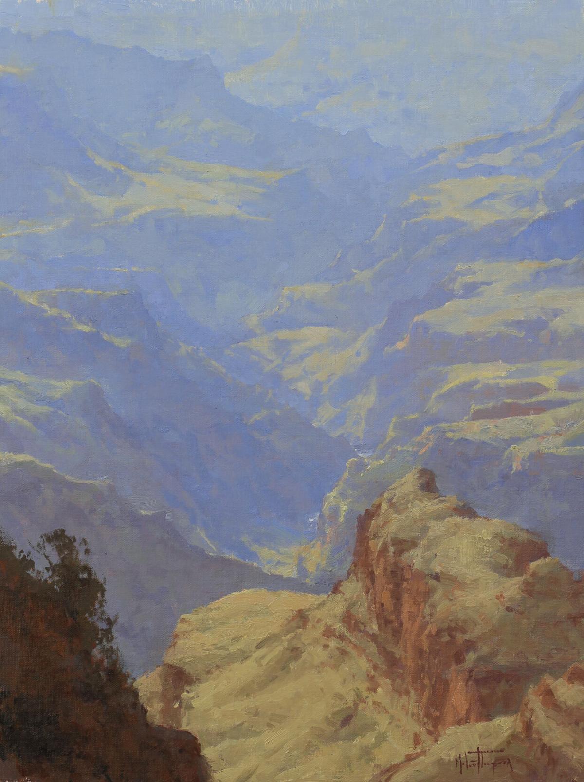 Desert View Layers by Melanie Thompson