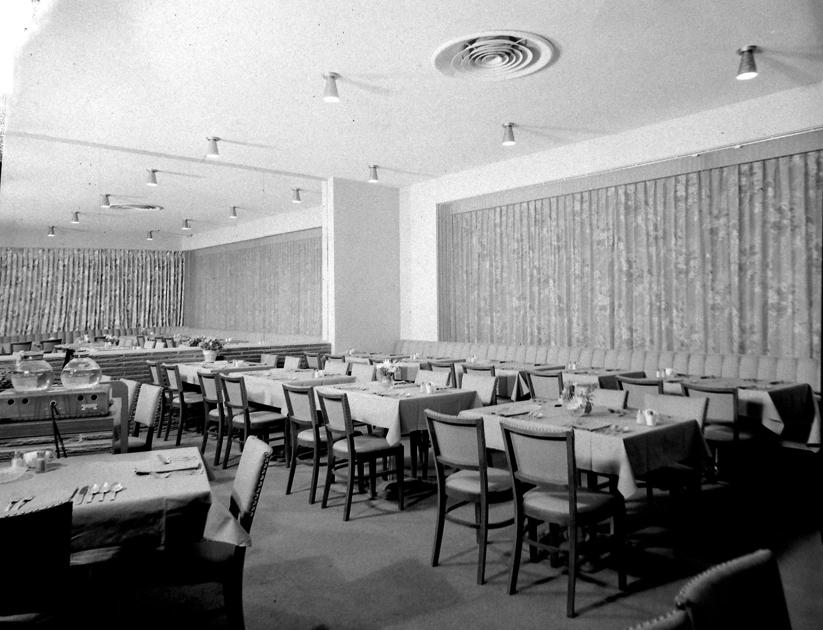 From the Vault: pea truck collision & Whitman Hotel, 1956