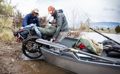 Lewistown man creates wheelchair-accessible drift boat