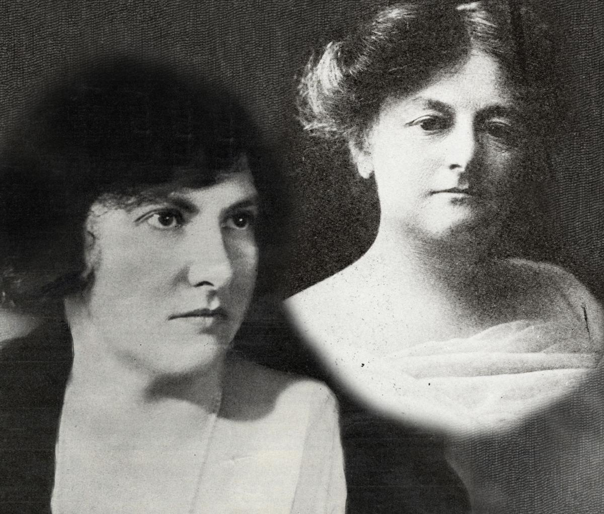 Marion and Emilie Bauer