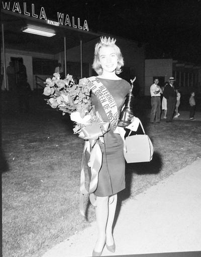 Posture queen visited Walla Walla in 1962