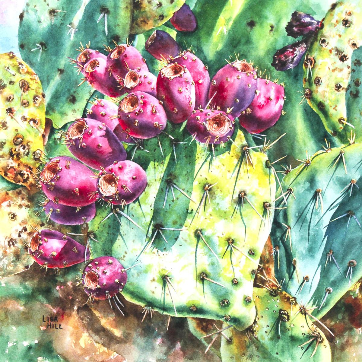 """Opuntia Fruit,"" by Lisa Hill"