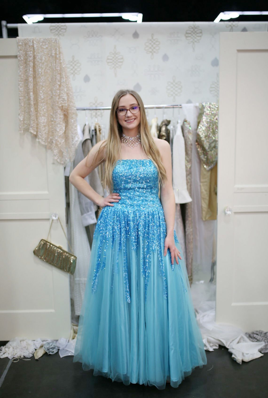 Weston-McEwen senior helps makes dreams of sequins and lace come ...