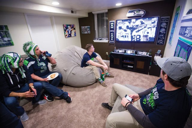 Seahawks game viewing