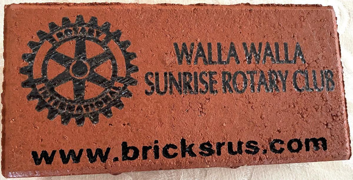 Rotary brick paver