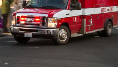 Emergency ambulance vehicle lights