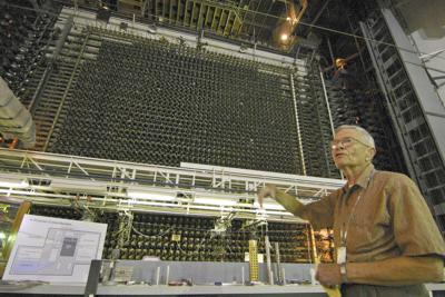 Norm Miller At Hanford's historic B Reactor