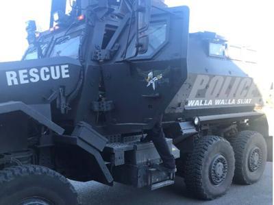 Walla Walla SWAT vehicle