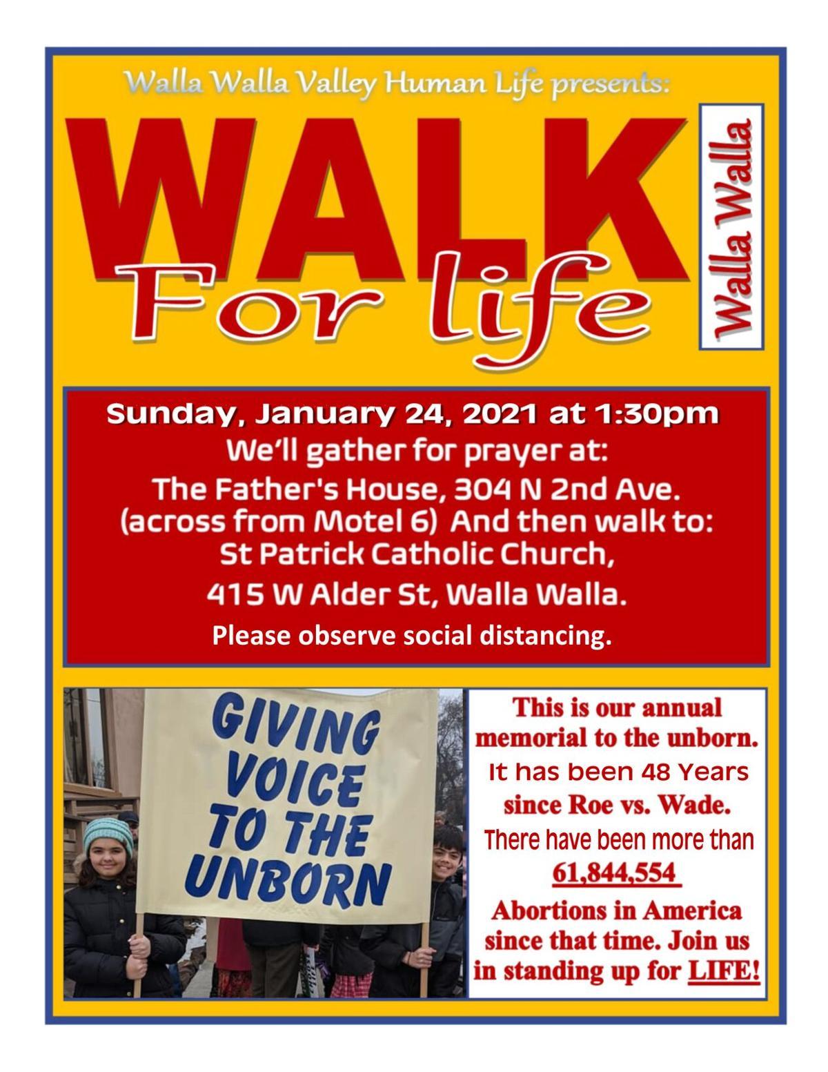 Walk For Life Walla Walla