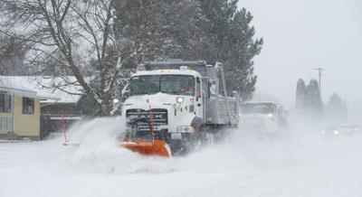 Snow Storm Plows