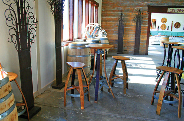 doug gisi wine barrel furniture co