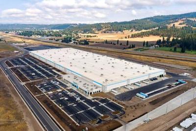 Amazon warehouse in Spokane Valley