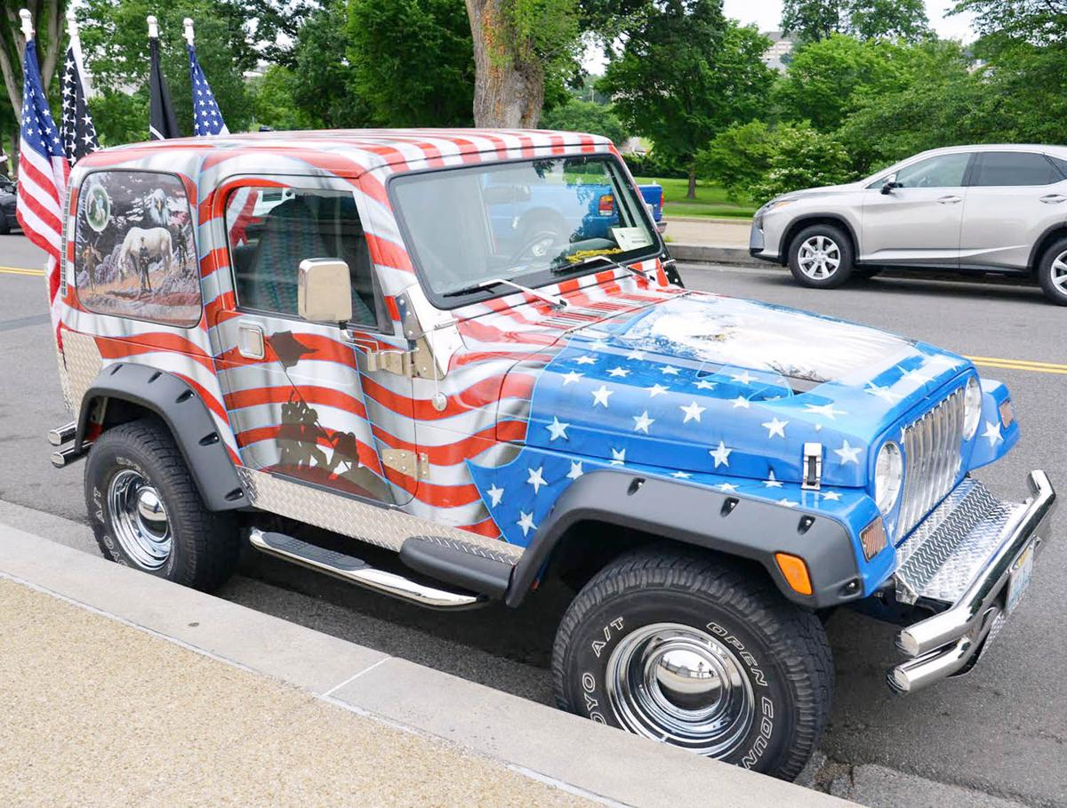 veteran, patriot jeep travel nation honoring vets | etcetera