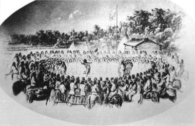 Walla Walla Council scalp dance