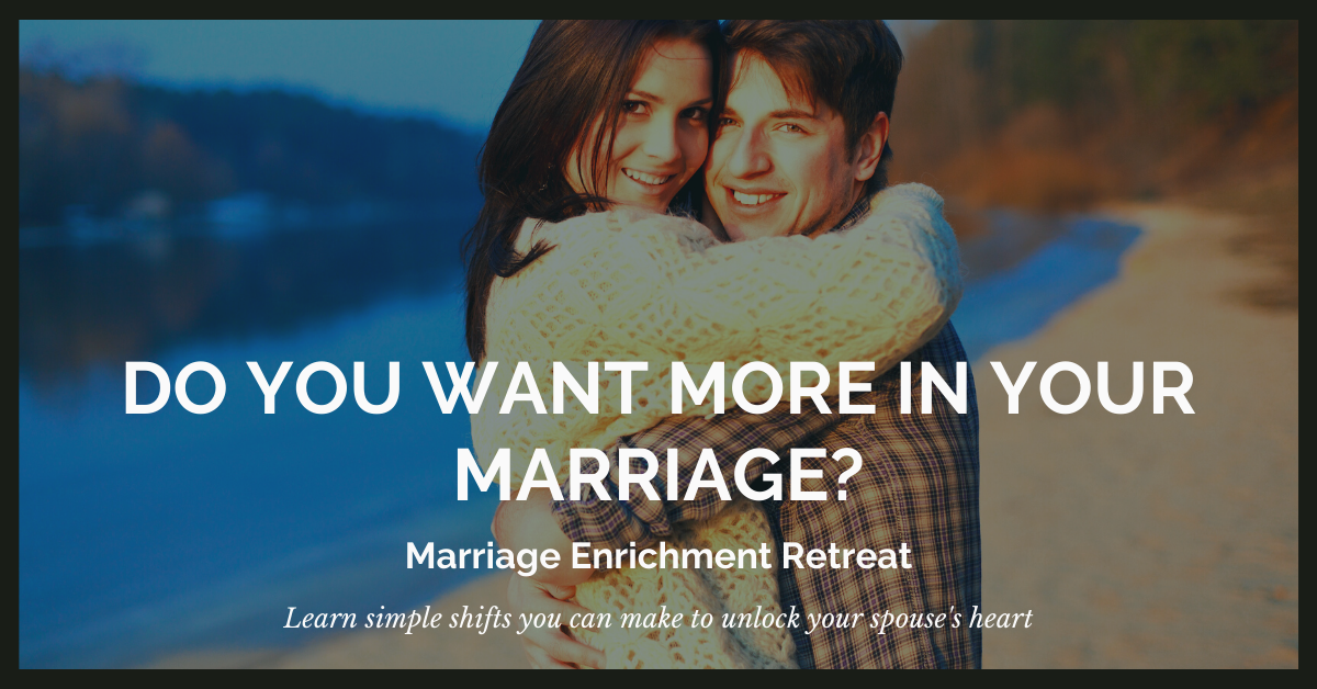 Do you want more in your marriage?