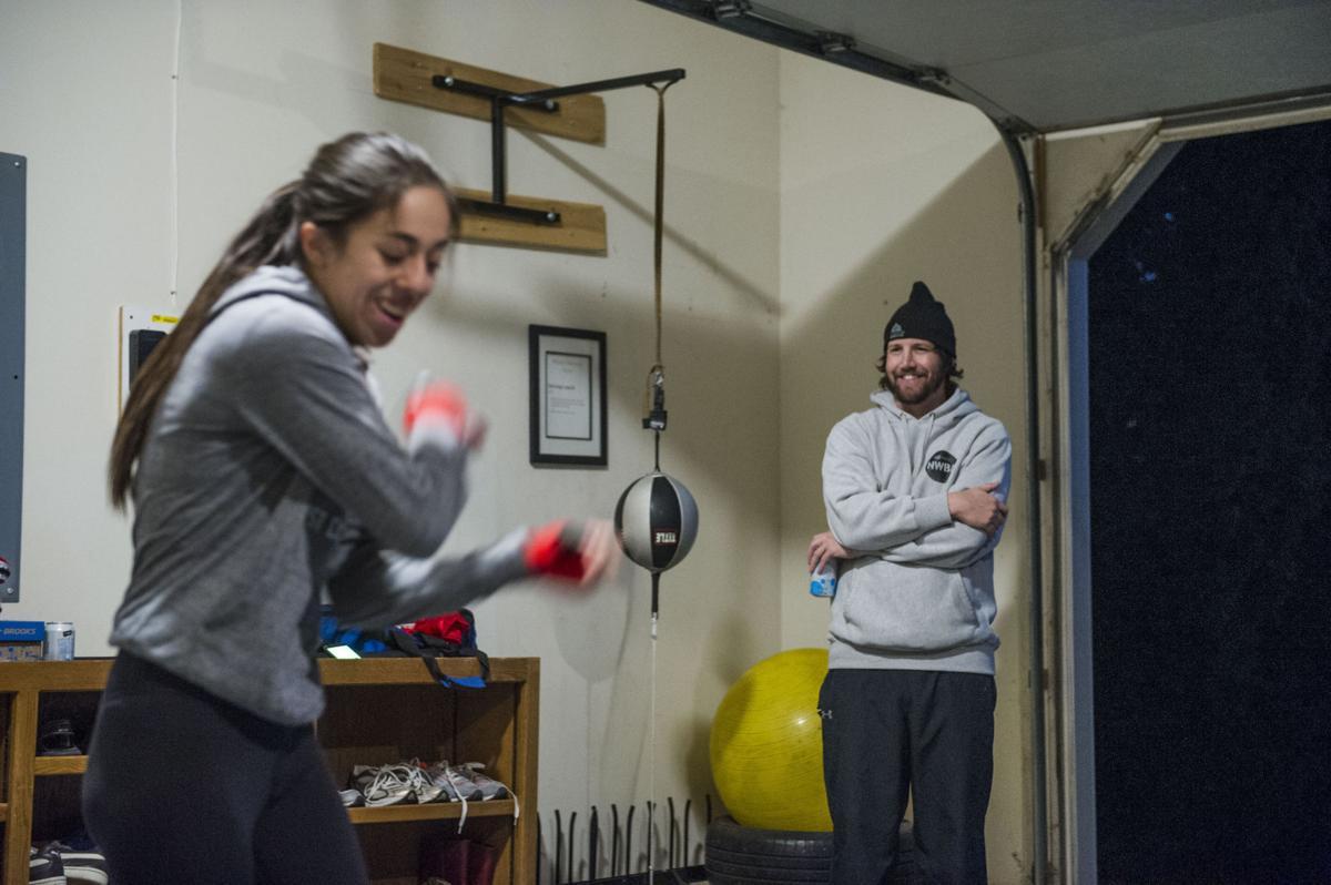 Boxer Rosalee Ruiz