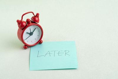 Pandemic procrastination