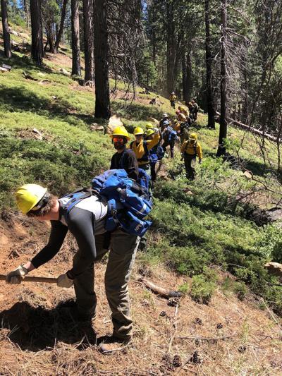 Fire militia training