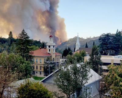 Washington Fire by Shawn Matthews
