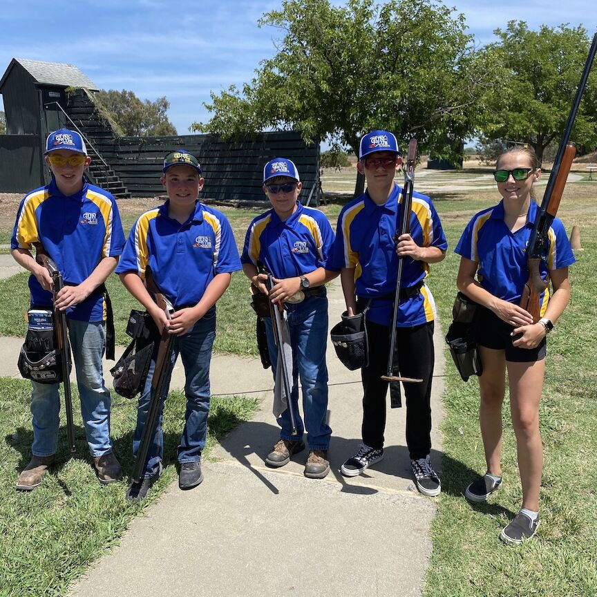 Mother Lode Gun Club Nuggets Junior Trap Team