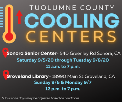 Labor Day cooling centers