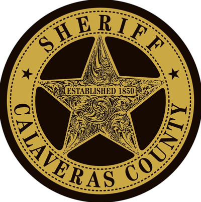 Calaveras County sheriff badge