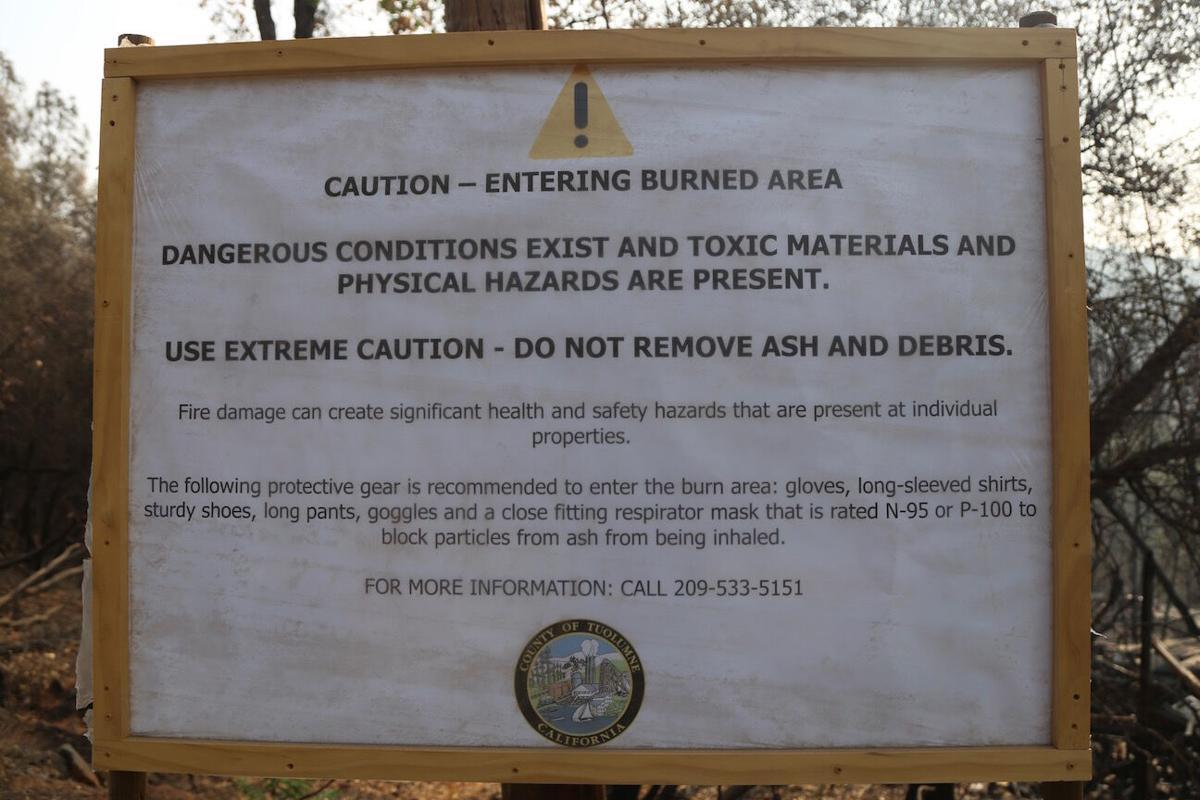 Washington Fire burn