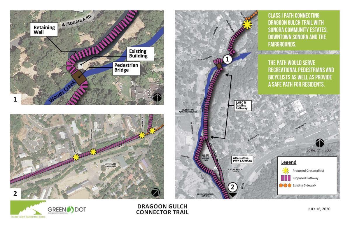 Dragoon Gulch Trail connector path