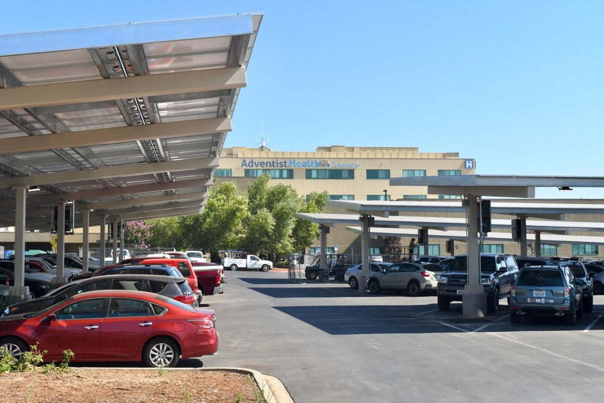 Solar Panels at Adventist Health Sonora