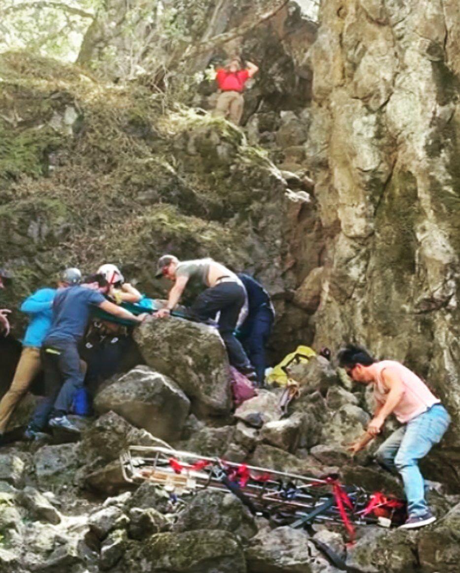 Table Mountain rescue
