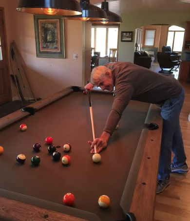 Bateman pool table