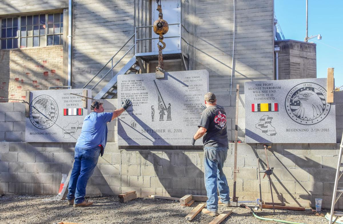 Veterans Memorial Installation