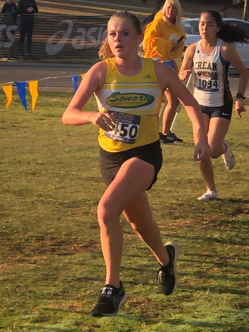 Sonora Wildcats cross country
